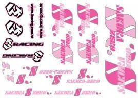 3RACING RC Model Hop-ups 3RAD-SK07 Sticker - Sakura Zero Zero Zero S | La Fabrication Habile  09c591