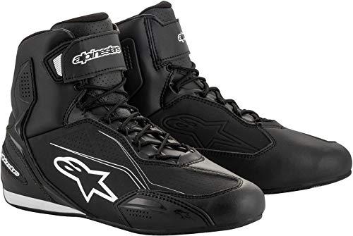 Alpinestars Stivali da moto Faster-3 Shoes Black, Nero, 38