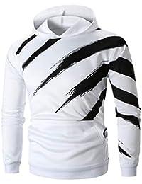 AmazingDays Camisetas Fortnite Hombre Sudadera con Capucha Estampada De Manga Larga para Hombre Sudadera con Capucha