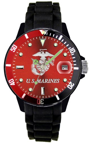 us-blason-marine-corps-coloris-montre-sport-impermable-30-m