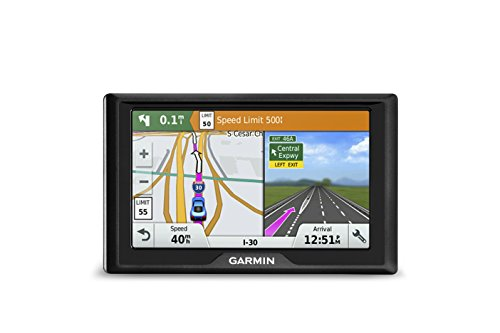Garmin Drive 50 USA + Peut lm GPS Navigator Système avec cartographie à vie, étape par étape, les directions d'un accès Direct, pilote d'alertes, et garde des données