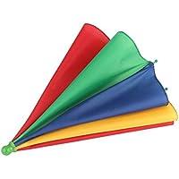 Monrodbitt Beweglicher Fischen-kampierender Strand Regenschirm-Hut-Mehrfarbenkappe Sun-Regen-Regenschirm nagelneuer heißer