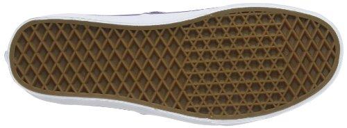 Vans U AUTHENTIC (WASHED) BLACK VVOE4JT Unisex-Erwachsene Sneaker Grau (pewter/electric Purple)