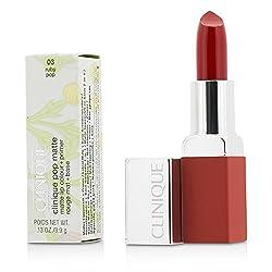 Clinique Pop Matte Lip Colour + Primer -  03 Ruby Pop 3. 9g/0. 13oz