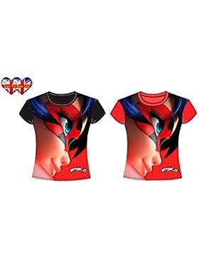Camiseta milagrosa de la mariquita, camiseta de los niños, camiseta para las muchachas, oficial licenciado.