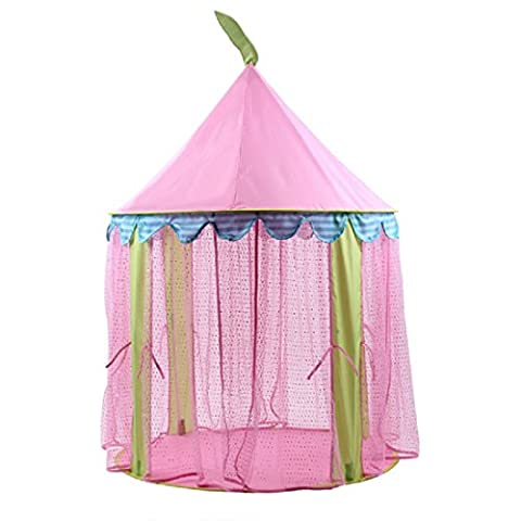 DeceStar Princess Pink Castle enfants Playhouse Indoor