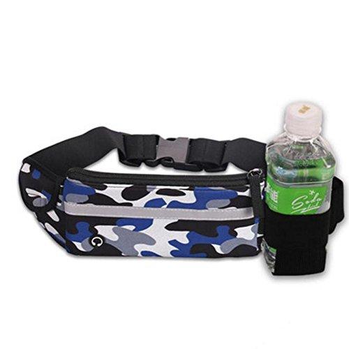 OOFWY Sport Wasserkocher Geldbörsen Jogging Männer und Frauen Mini Stealth Wasserdichte Fitness Outdoor Taschen I