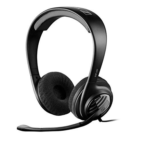 Sennheiser GSP 107 Binaurale Diadema Negro auricular con micrófono -