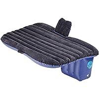 Pinty Car Travel Inflatable Mattress SUV Air Bed Backseat Camping Sleep Cushion with 2 Pillows