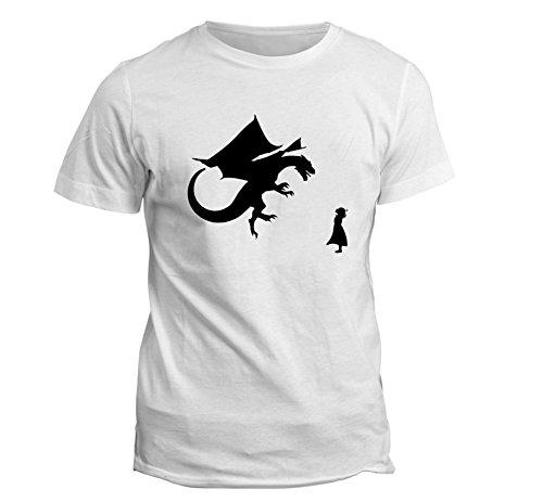 mpire T-Shirt Gr. Medium, weiß (Dead School Girl Outfit)