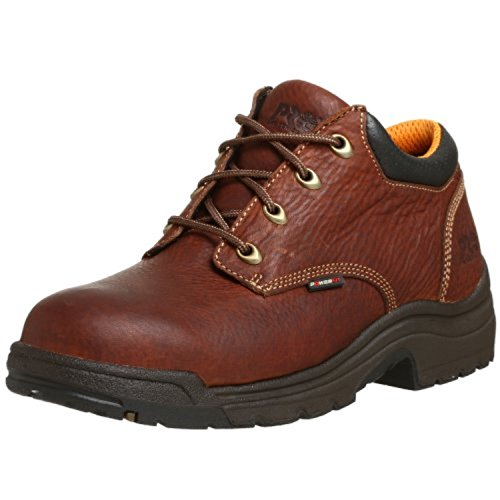 Timberland PRO Men's 47015 Titan Soft-Toe Lace-Up,Haystack Brown,10 M