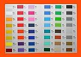 Klebefolie HOCHLEISTUNGSFOLIE Fliesenfolie Modellbau Plotterfolie Möbelfolie Wunschfarbe 63 x 100cm je Laufmeter (MATT)