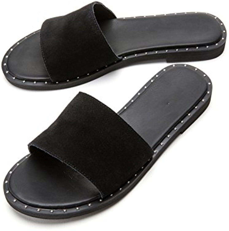 DHG Sandali Sandali Sandali estivi, Pantofole da donna alla moda, Sandali piatti casual, Sandali con tacco basso a tacco basso... | Prestazione eccellente  | Uomini/Donna Scarpa  d7abc2