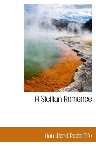 Portada del libro A Sicilian Romance by Ann Ward Radcliffe (2009-05-19)