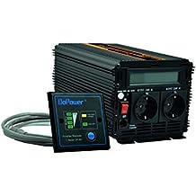 inversor de corriente onda pura 1000 2000w convertidor de voltaje 12v 220v onda pura LCD