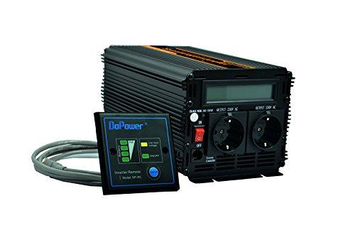 Preisvergleich Produktbild spannungswandler reiner sinus 1000 2000W wechselrichter 12V 230V LCD power inverter