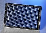 Corning 4585 384 - Plato de cristal con tapa (10 unidades, revestimiento de fibra de vidrio, no estéril)