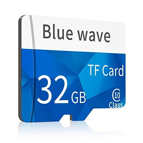 CrazyFire Ultra 32GB MicroSDHC Speicherkarte + Adapter, Class 10, für industrielle Endoskope, Smartphones, Digitalkameras usw