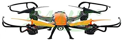 Large Drone With Camera Quadrocopter Quadcopter WINYEA - Orange by BSD