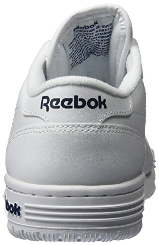 Reebok Ex-O-Fit Clean Logo Int, Scarpe Sportive Indoor Unisex – Adulto Bianco (int-white/royal Blue/royal Blue)