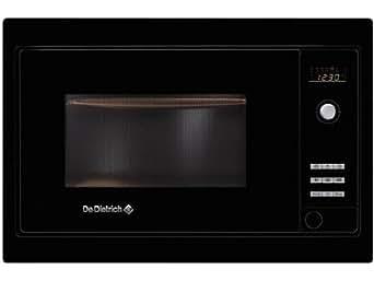 Dedietrich DME721BB - De Dietrich DME721BB - Four micro-ondes - intégré(e) - 26 litres - 900 W - noir