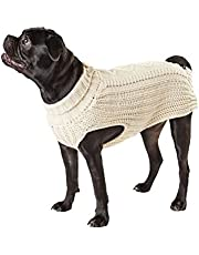 Hotel Doggy DW00054BPXLO Oatmeal Cable Knit Sweater, X-Large