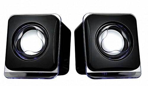 Terabyte Excellent Acoustic Mini USB2.0 Speaker (Black)