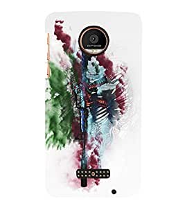 Takkloo weapon colurful cover,cover for army, petriotic cover sign) Printed Designer Back Case Cover for Motorola Moto Z Force :: Motorola Moto Z Force Droid for USA