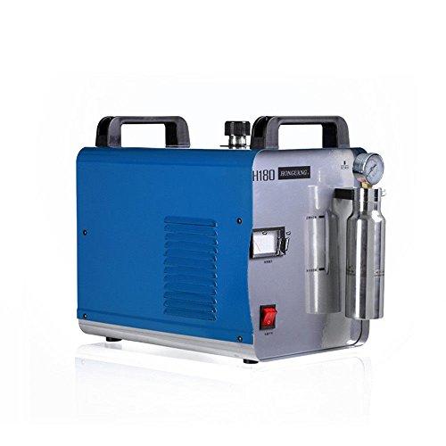 OUBAYLEW Sauerstoff-Wasserstoff Generator Acryl Flamme Poliermaschine Poliergerät Wasser Schweißer