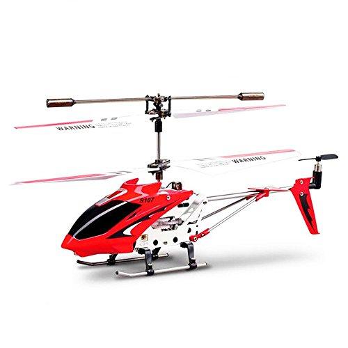 Saflyse RC Helikopter ferngesteuerter Hubschrauber mit der neuesten Gyro (Rot)