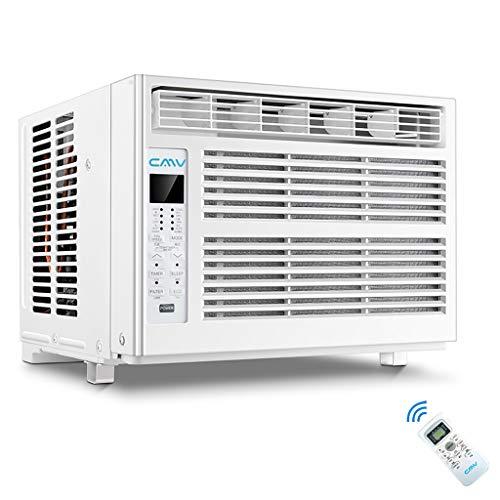 Fenster klimaanlage, Luftfilter, Bessere Luftzirkulation, 2 Modi, Mit Fernbedienung Und Timer, Weiß - 600 Watt [Energieklasse A] -