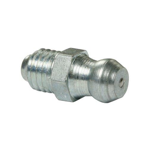 100 x M6 x 1,0 WTB® Kegelschmiernippel DIN 71412 A (H1) aus verzinktem Stahl