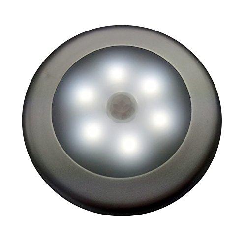LEDMOMO Lumière de capteur de mouvement, lumière alimentée par batterie LED Night-Stick Stick-Anywhere lumière murale, lumières de placard lumières d'escalier, lumières sûres pour salle de bains, chambre à coucher, casiers, cuisine