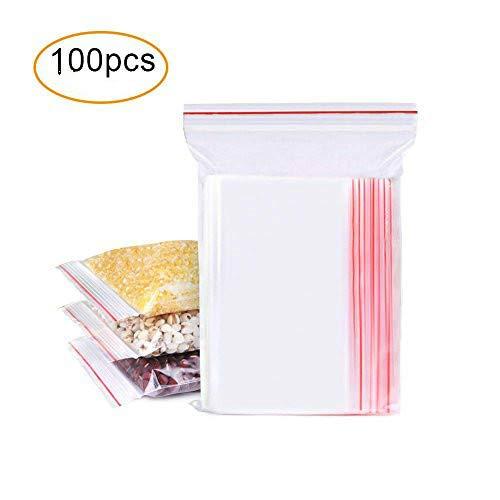200 Sac Plastique Transparent Cellophane 10 X 15 Cm Alimentaire Emballage En Sachet Cabas De Rangement