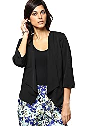 Vero Moda Womens Casual Shrug (_5712066515958_Black_40_)