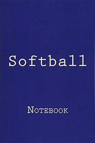 Softball: Notebook por Wild Pages Press