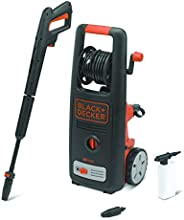 Black+Decker 1800W 135 Bar Pressure Washer Cleaner for Home, Garden and Vehicles, Black/Orange - BXPW1800E-B5,