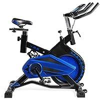 Fitness | Bicicleta de Spinning Profesional Shark Totalmente Equipada | Sistema de amortiguación VSS | Soporta hasta 140 kgs | Manillar de triathlón con ...