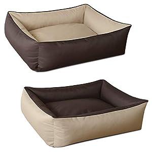 BedDog Hundebett MAX DUO 2in1 - wandelbarer Komfort-Schlafplatz für Hunde Frisches Design und kuscheliges Material. Das in der EU gemäß deutschem Qualitätsstandard gefertigte Hundebett, fügt sich optisch in jeden Raum ein und kann nach Belieben umges...