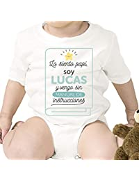 Bodies personalizados para bebés y niños con divertidas frases ...