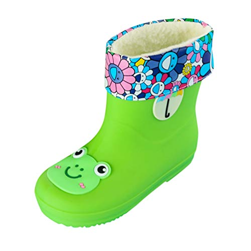 Tookang Unisex Toddler Kids Lightweight Rain Boots Waterproof Rain Shoes