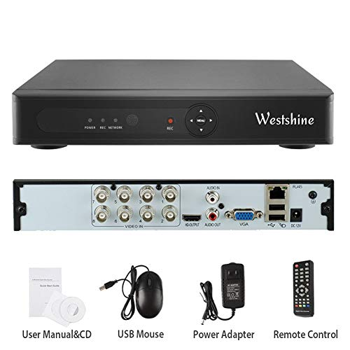 Westshine 1080N 8CH DVR/NVR Grabador Video Digital