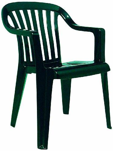BEST 18080530 Stapelsessel Memphis, grün