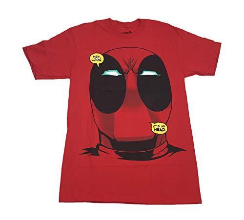M?nner Deadpool Hey Look It 'Mein Kopf T Shirt Small Red - Hey Hey Roten T-shirt