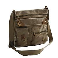Canvas schouder tas van Harolds - ruime schoudertas Messengerbag Vintage Handtas - Denim (kleur naar keuze) - gepresenteerd door Zmoka