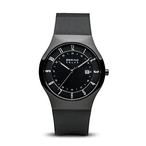 BERING Herren-Armbanduhr Analog Solar Edelstahl 14640-222