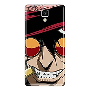 Mozine Bullet Dracula Printed Mobile Back Cover For Xiaomi Mi4