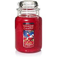 Yankee Candle Large Jar Candle, Christmas Eve
