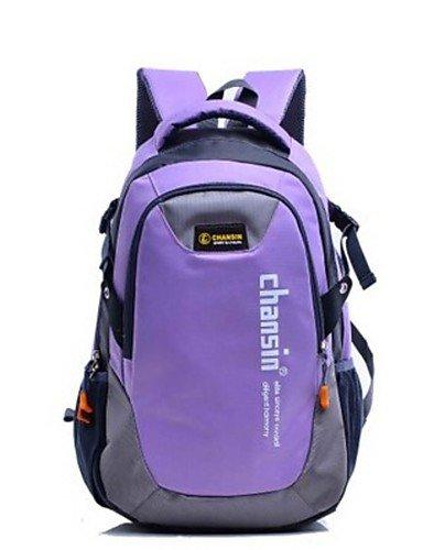 HWB/ n/a L Rucksack Legere Sport / Reisen / Laufen Draußen / Leistung Wasserdicht / Multifunktions andere Nylon N/A Purple