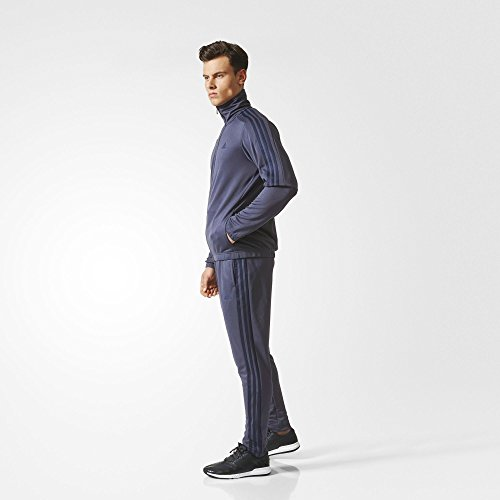 adidas Herren Tiro Trainingsanzug blau (azutra / maruni)